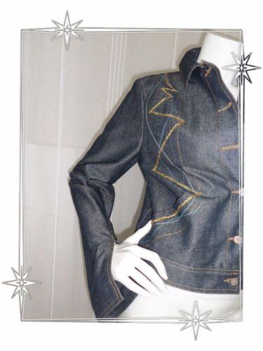 Taille Blouson Magnifique 40 B Lacroix Jean Christian Fantaisie En Broderies C8aa5w