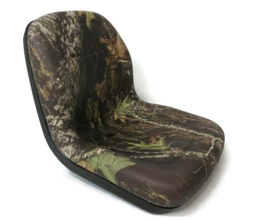 Made in USA Camo HIGH BACK SEAT for Exmark ZTR Zero Turn Lawn Mower Tractor