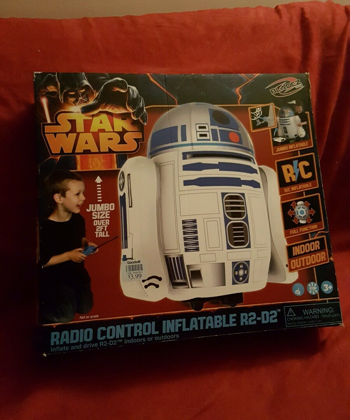 Estrella  guerras R2-D2 Inflatable Droid R C Remote Control Controlled NIB International  prezzi all'ingrosso