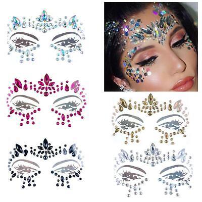 Ehrgeizig Festival Party Gesicht Augenbraue Diamant Aufkleber Tattoo Maskerade Gesicht Modischer (In) Stil;