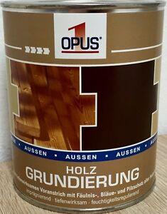 Opus1 Holzgrundierung 750ml 1464lholzschutz Holz Grundierung 0