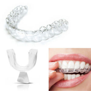 4 Gum Shield Teeth Guard Dental Mouth Grinding Bruxism Night Tray Anti Snore Aid 800001178124