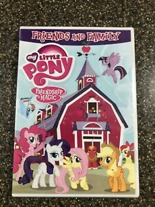 New-MY-LITTLE-PONY-Friendship-Is-Magic-Friends-and-Family-DVD-w-bonus-Sing