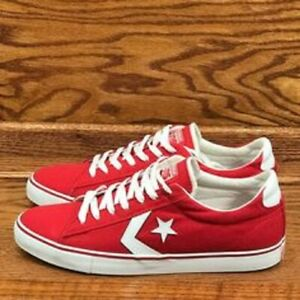 CONVERSE PRO LEATHER VULC OX WHITE RED