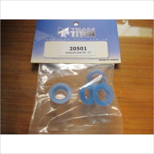 4pcs #20501 TiTan  Exhaust Seal for .12