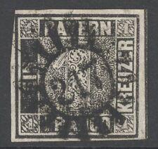 Bayern Einser Mi. Nr. 1 Ia PF XXXV gest. Attest Sem BPP 5.000 Euro