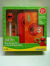 NEW Sesame Street Elmo 5 in 1 Kit Case Stylus  +More for Nintendo DS Lite DSi XL