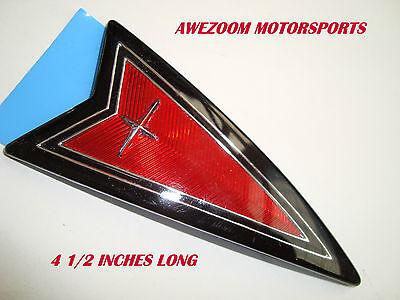 NEW LARGE GENUINE GM PONTIAC Emblem Trans Sport G6 G8 Trans Am Grand GTO