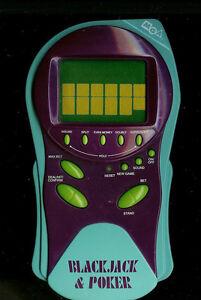 MGA-BLACKJACK-amp-POKER-ELECTRONIC-HANDHELD-CASINO-2-n-1-TRAVEL-LCD-TOY-BLACK-JAC