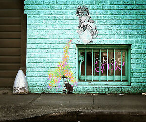 street-art-graffiti-large-banksy-A0-print-satin-poster-for-your-glass-frame