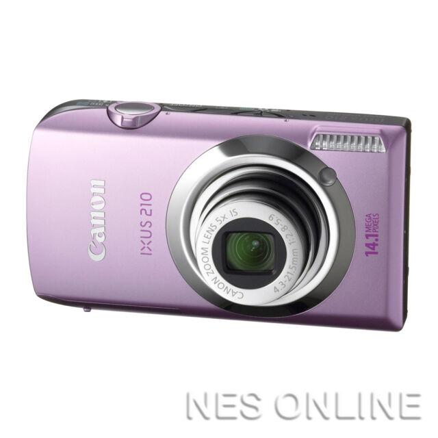 Canon IXUS210 IS Touch Digital Camera IXUS 14.1MP PINK IXUS210IS 24mm/3.5x Zoom