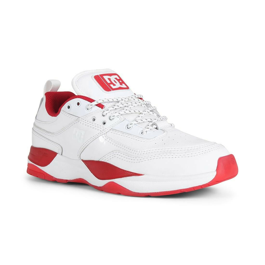 DC shoes E Tribeka S JS - White    Red  save on clearance