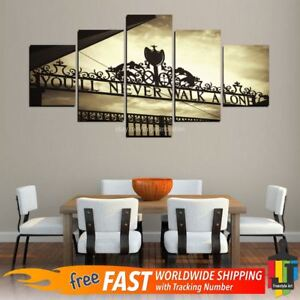 Details About Youll Never Walk Alone Liverpool Painting Canvas Wall Art Picture Home Decor