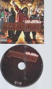 CD--LIL JON & THE EAST SIDE BOYZ -- -- CRUNK JUICE
