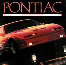 1989 PONTIAC BROCHURE -TRANS AM GTA-FIREBIRD FORMULA-GRAND PRIX-GRAND AM-SUNBIRD
