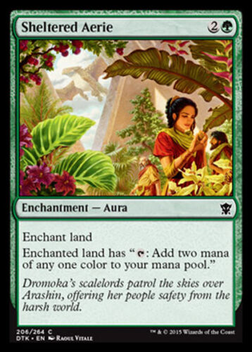 DTK NIDO PROTETTO MAGIC MTG 4x SHELTERED AERIE