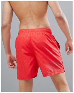 Details About Nike Mens Swimwear Back Logo Swim Shorts Board Shorts Size S To Xl Oz Stock