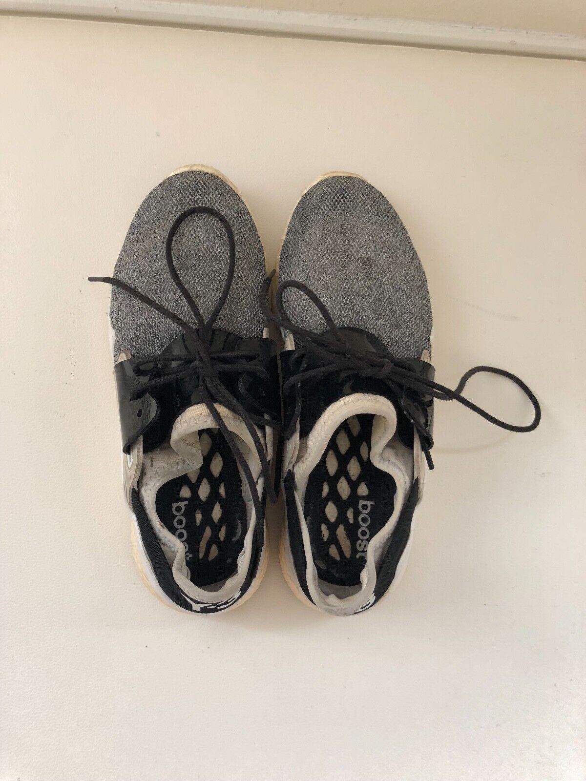 Y-3 donna scarpe scarpe da ginnastica grigio Good Condition Dimensione 6