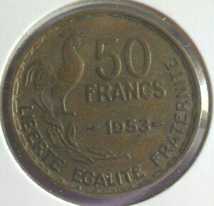 50-Francs-G-Guiraud-1953-TTB-piece-de-monnaie-Francaise-N44