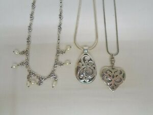 Lot of Three Brighton Necklaces (Bag L)