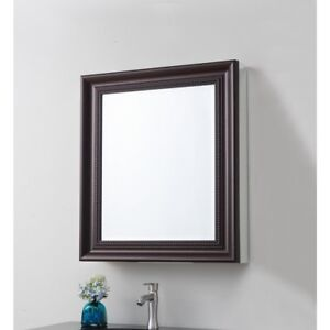Bronze Bathroom Medicine Cabinet Mirror 24 x 30 in ...
