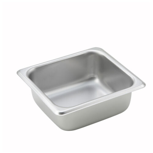 NSF One-Sixth Size Steam Table Pan 2.5-Inch Deep Winco SPS2