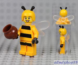 LEGO Minifiguren Lego bumblebee girl series 10 parts legs torso head wings honey pot cap antennae