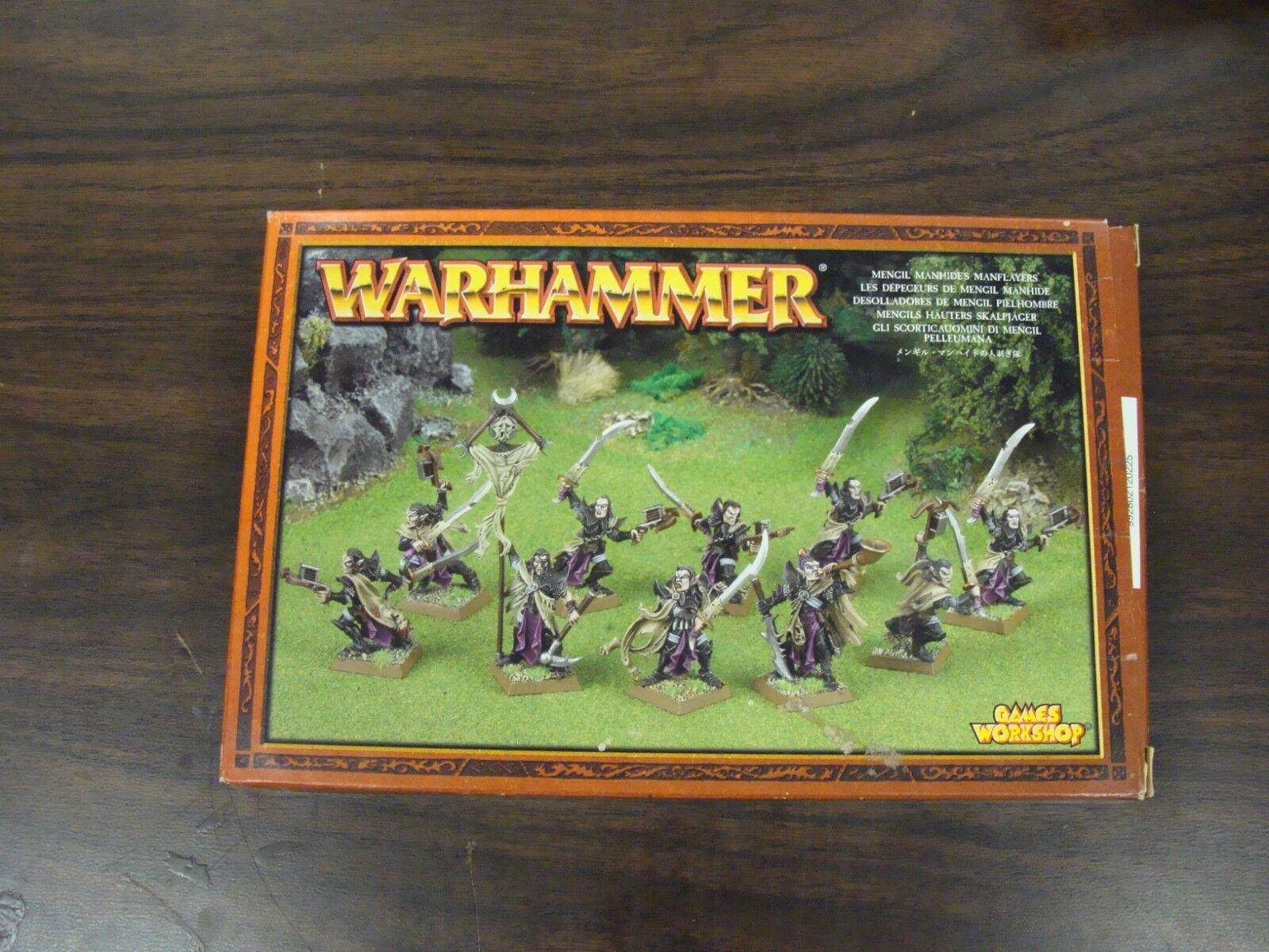 Mengil Manhides Manflayers  12 Models  Warhammer  Metal  OOP