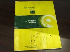 John Deere 4640 And 4840 Tractors Operators Manual