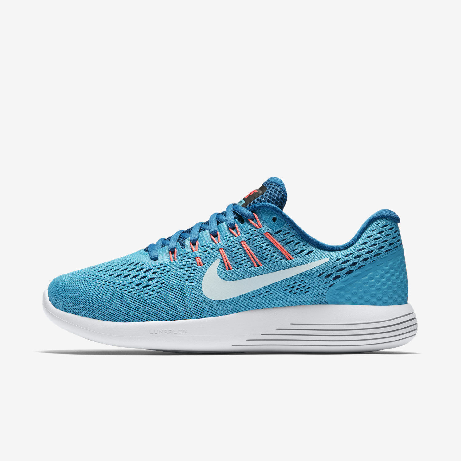 Womens Nike Lunarglide 8 Sz 7 Chlorine Blue/Blue 843726-405 FREE SHIPPING Special limited time