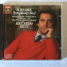 Scriabin - Symphony #1, Reverie - Muti -  EMI CDC 7 47349 2 - Made in Germany