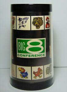 Vintage-1970s-BIG-8-CONFERENCE-OKLAHOMA-SOONERS-KANSAS-JAYHAWKS-OSU-KSU-BEER-MUG