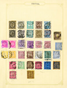 Portugal-1900-1911-Clean-Stamp-Collection