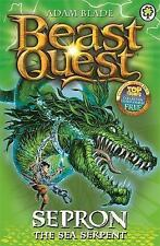 Sepron the Sea Serpent: Beast Quest Book 2 by Adam Blade (Paperback, 2007)