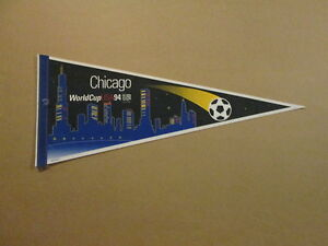 World Cup Soccer Vintage CHICAGO USA 94 Logo Pennant