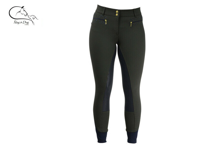 HyFashion  Edinburgh  Stretch Full Silicone  Grip Breeches Ladies FREE Delivery  for wholesale