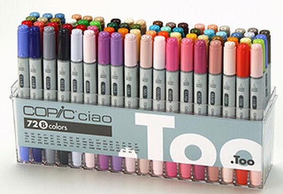 Copic CIAO Plumas 36 Set B-Manga Gráfico Arts Marcadores De Artesanía-Envío rápido