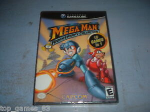 MEGAMAN-ANNIVERSARY-COLLECTION-GAMECUBE-NTSC-NEUF-SOUS-BLISTER-NEW
