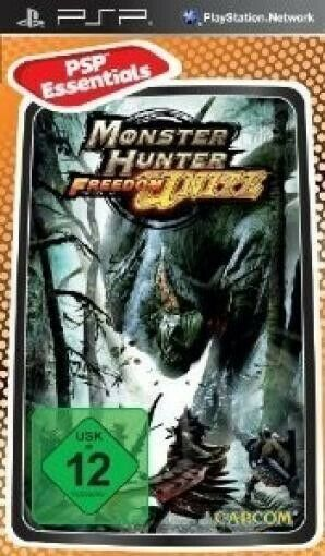 PSP - Monster Hunter - Freedom Unite [Essentials] dans l'emballage utilisé