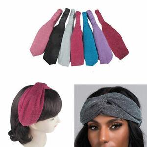 6 pieces Women Lace Net Bandana Turban Twist Knot Head Wrap Headband Twisted Lot