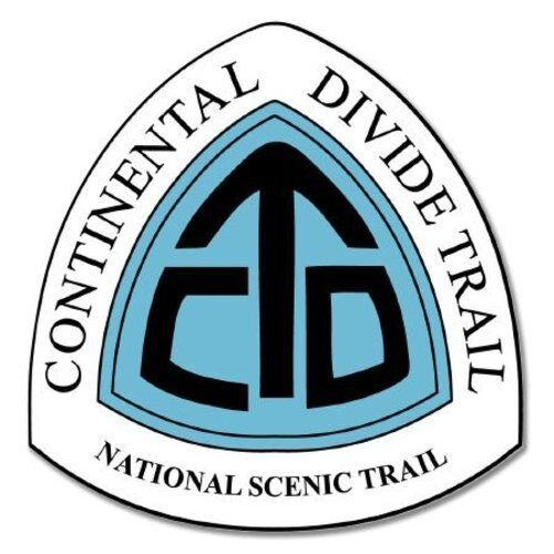 SELECT SIZE Continental Divide Trail Car Vinyl Sticker