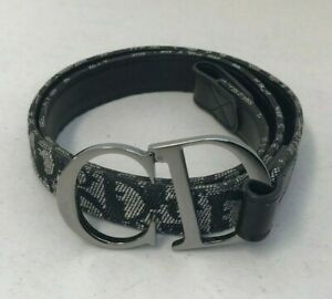 "Christian Dior Diorissimo Belt ""CD"" Belt, 1990s"