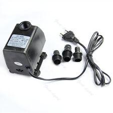 Aquarium Water Pump Submersible Fountain Air Fish Tank EU Plug 220V 45W 2500L/H