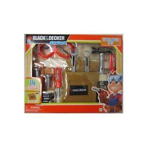 Toddler Toy Black Amp Decker Junior 14 Piece Tool Belt Set