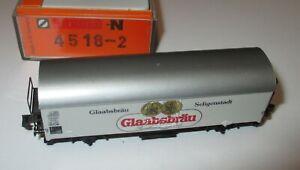 Arnold-4518-02-Kuehlwagen-Bierwagen-weiss-034-Glaabsbraeu-Seligenstadt-034-gt-Neu-OVP