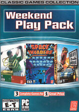 Weekend Play Pack 3x PC Games: Golf Pro 2,Drive to Survive,Space Invaders