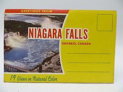 VINTAGE Oakes Garden Theater Niagara Falls CANADA PC POSTCARD linen  NR-MINT