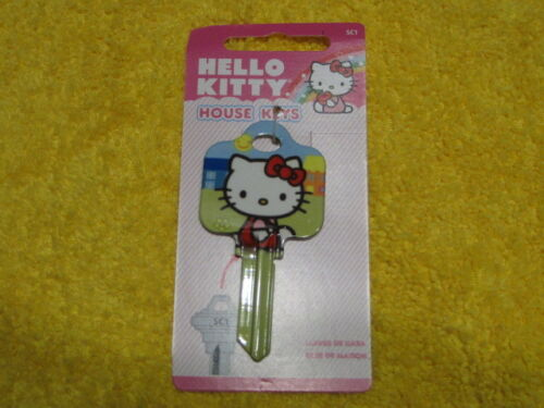 SC1 HOUSE KEY BLANK HELLO KITTY GREEN for SCHLAGE lock Made in The USA