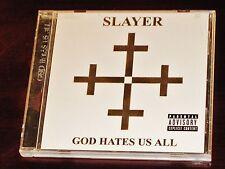 Slayer: God Hates Us All CD PA 2007 American Recordings USA 88697 13110 2