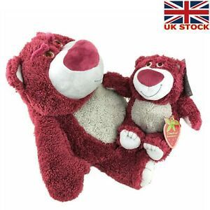 Pixar Toy Story 4 Movie Character  Lotso Huggin Bear Soft Plush Kids Xmas Gift